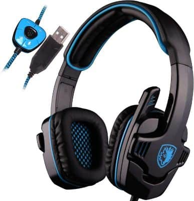 SADES SA901 Over Ear USB Wired