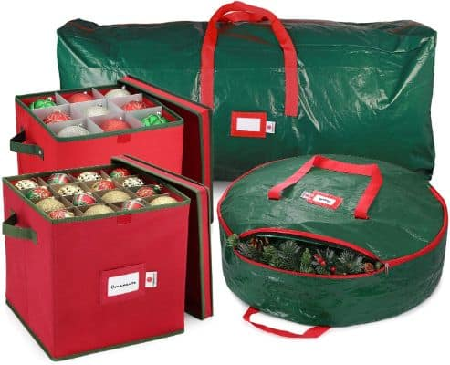 StorageMaid Holiday Storage Set - Large Ornament Storage