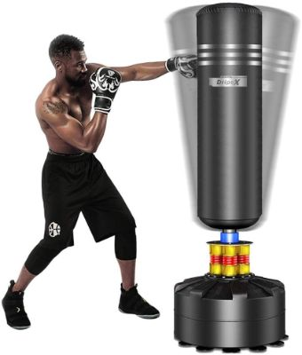 Dripex Freestanding Punching Bag 69''- 182lb Heavy Boxing Bag