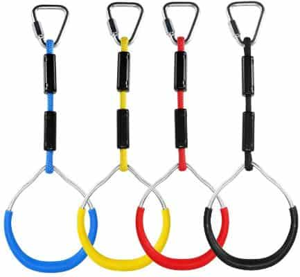 letsgood Colorful Swing Gymnastic Rings