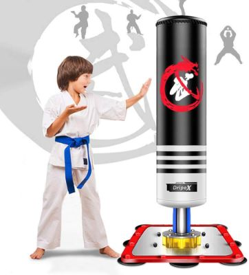 Dripex Freestanding Punching Bag - 47 Kids Heavy Boxing Bag