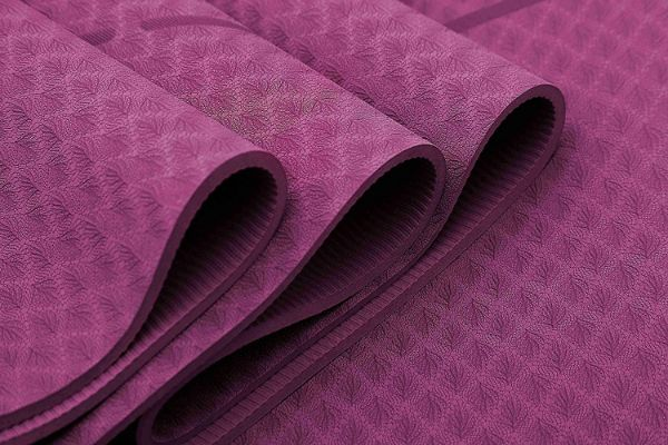 Ewedoos Eco-Friendly Yoga Mat with Alignment Lines