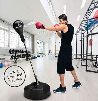 Tech Tools Punching Bag Reflex Boxing Bag