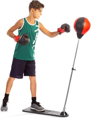 Tech Tools Punching Bag for Kids, Boxing Set