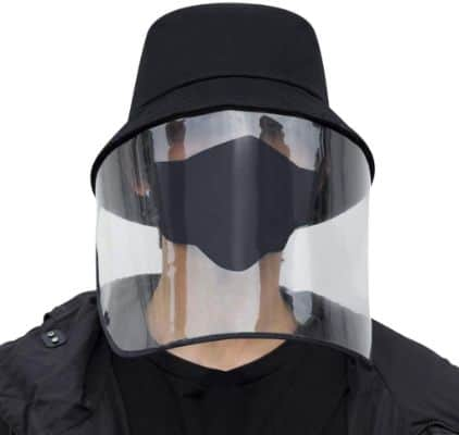 Anti-Saliva Protective Hat Anti-Spitting Protective Full Face Cover Mask Dustproof Safety Face Shields Anti-Fog