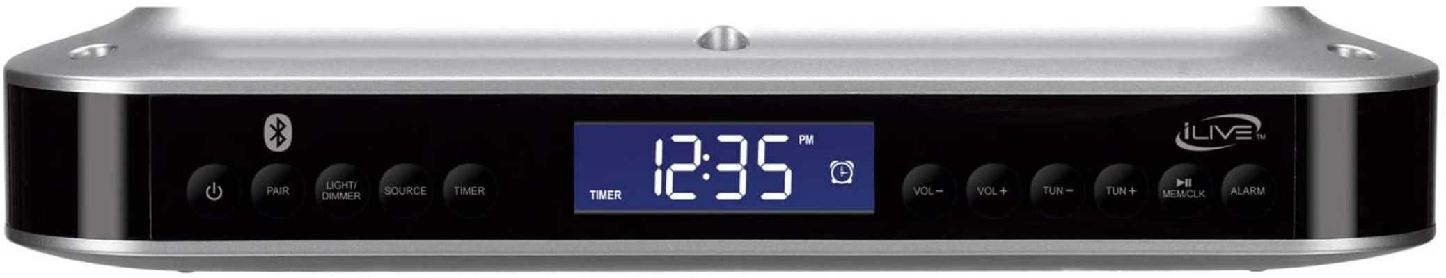iLive Wireless Under Cabinet Bluetooth FM Radio
