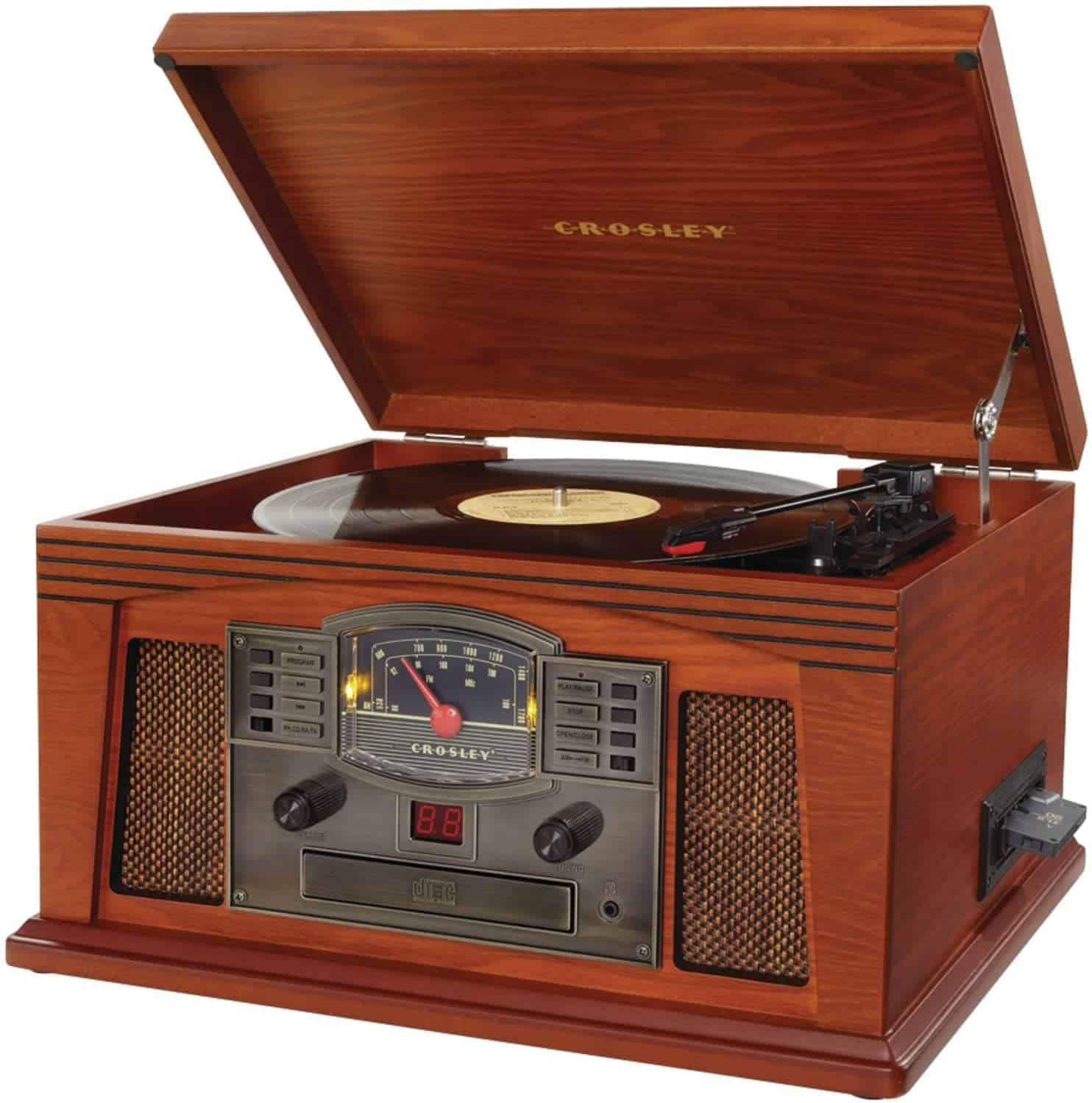 Crosley CR42C-PA Lancaster Musician Entertainment Center (Paprika)