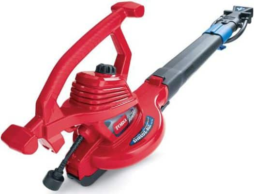 Toro 51621 UltraPlus Leaf Blower Vacuum, Variable-Speed (up to 250 mph)