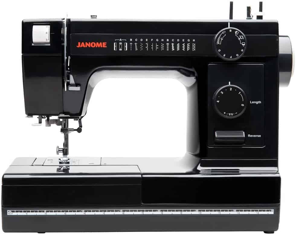 Janome Industrial-Grade Aluminum-Body HD1000 Black Edition Sewing Machine