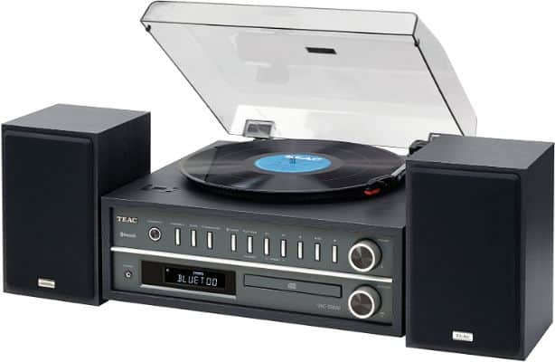 Teac MCD800B 20-watt Turntable System