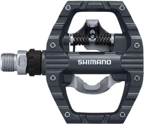 SHIMANO PD-EH500; SPD Bike Pedals; Cleat Set Included; Dual Sided Platform