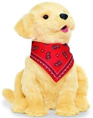 Stuffed Golden Robot Dog