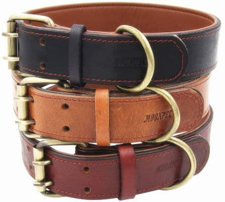 Soft & Durable Leather Dog Collar