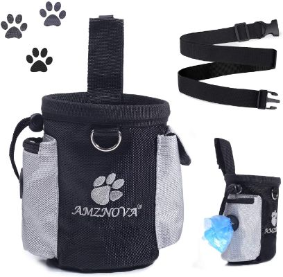 Dog Treat Bag With Pockets