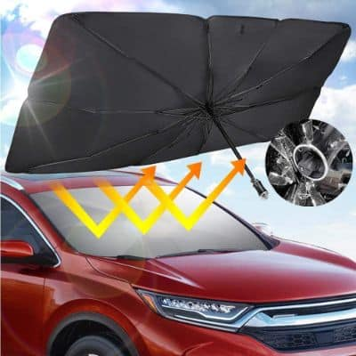 Car Umbrella With Window Breaking Handle