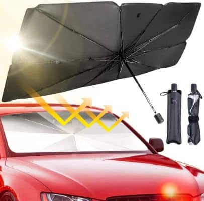 Car Windshield Umbrella With Strong Structure Support