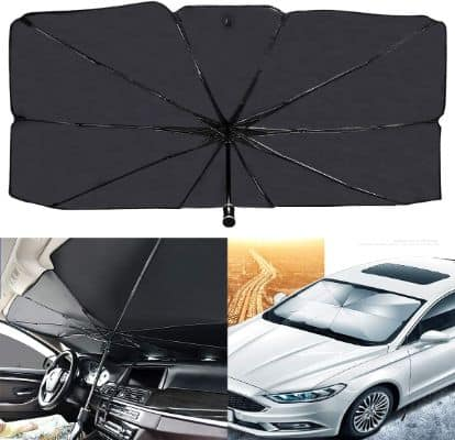 Ergonomic Car Windshield Umbrella