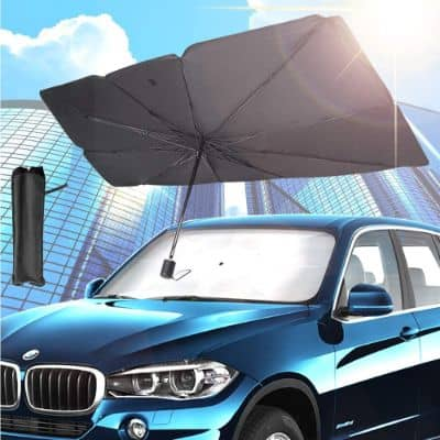 Foldable Car Parasol With Strong Heat Insulation