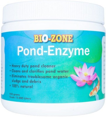 Bio-Zone Pond Pool All-Natural Enzyme Treatment –Eco-friendly Water Cleaner Algae Bacteria Reducer