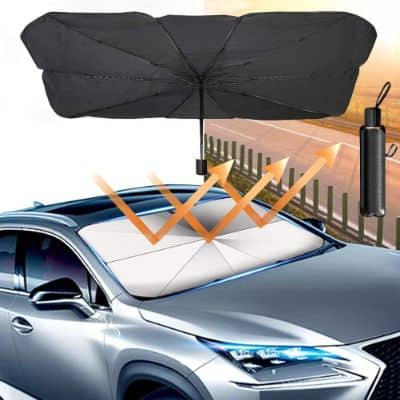 Windshield Car Umbrella With Suction Design