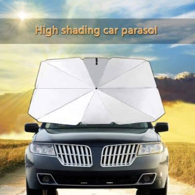 Foldable & Versatile Windshield Umbrella