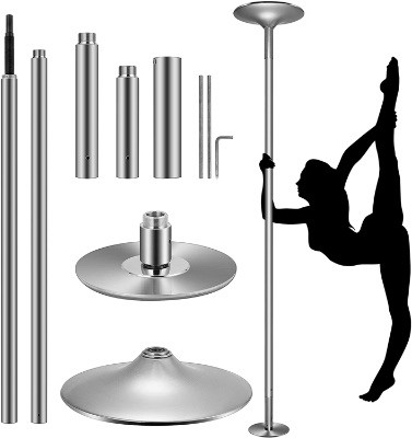 Portable Spinning Dance Pole For Home & Fitness